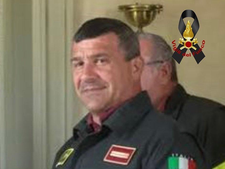 Il Capo Reparto dei Vigili del Fuoco Paolo Franzoso ha perso la battaglia contro il Covid