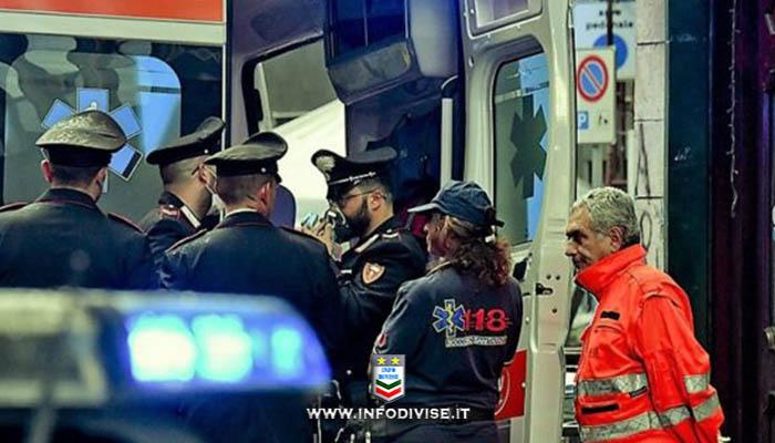 """Carabiniere colpito da infarto salvato dai colleghi """"teleguidati"""" dagli operatori del 118"""