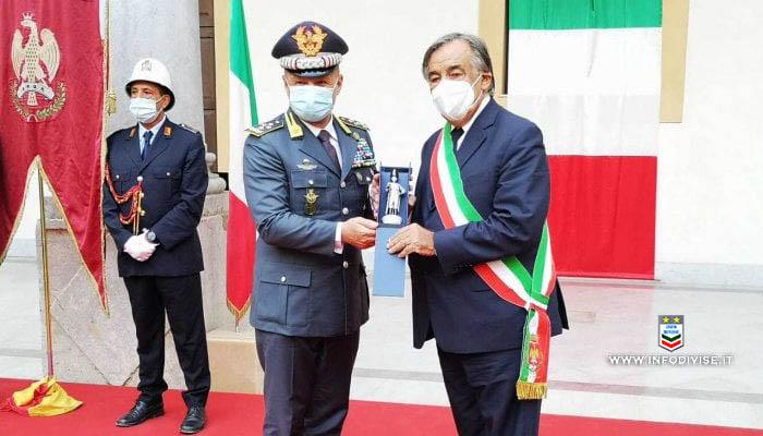 Palermo, cittadinanza onoraria alla Guardia di finanza