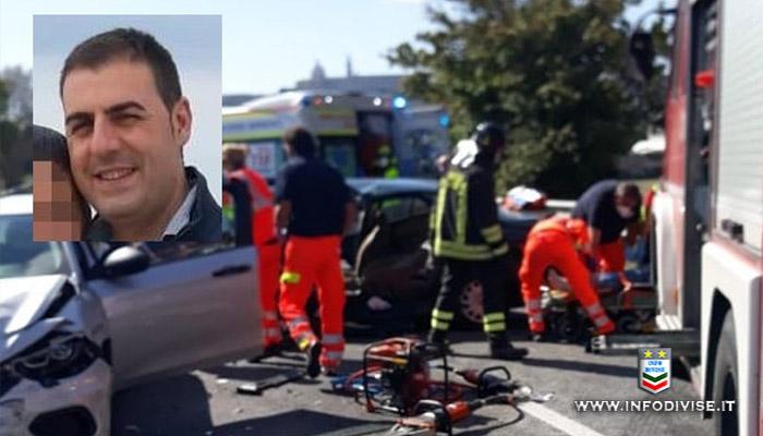 Tragedia a Porto Recanati, schianto in moto lungo la Statale: muore agente di Polizia penitenziaria