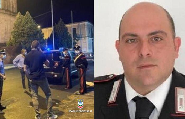 Sparatoria in chiesa: le condizioni del vicebrigadiere dei carabinieri Sebastiano  Grasso