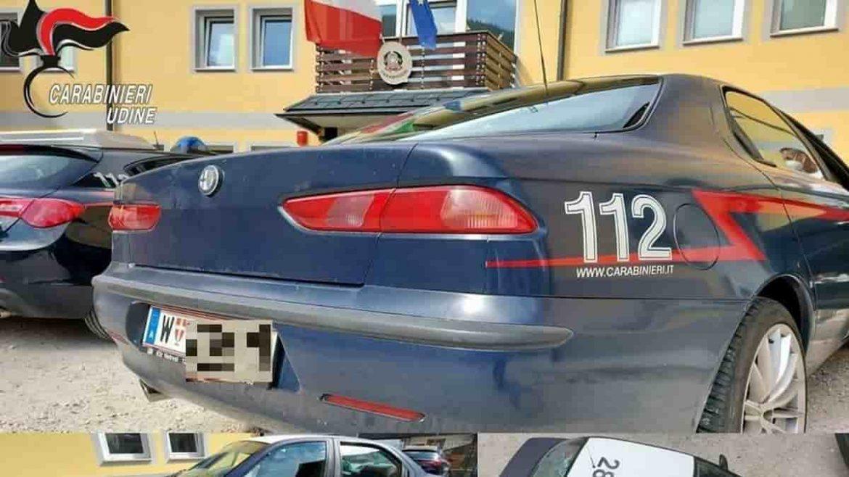 In viaggio con una finta Gazzella dei carabinieri: coppia austriaca denunciata e auto sequestrata