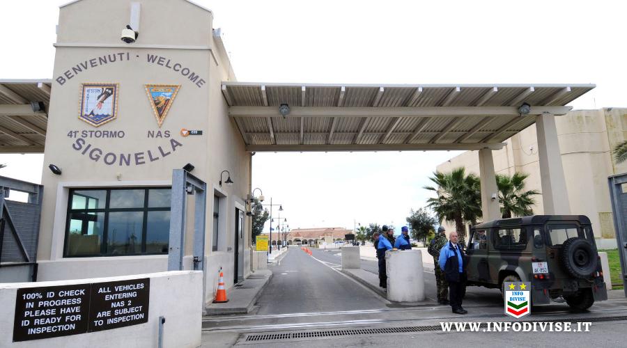 Sit-in dell'Aeronautica Militare a Sigonella contro il Green Pass: la prima protesta della storia del Corpo